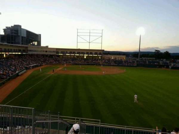Medlar Field at Lubrano Park, section: 402, row: 13, seat: 7