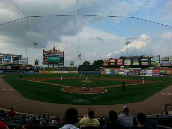 Coca-Cola Park, section: 112, row: p, seat: 9