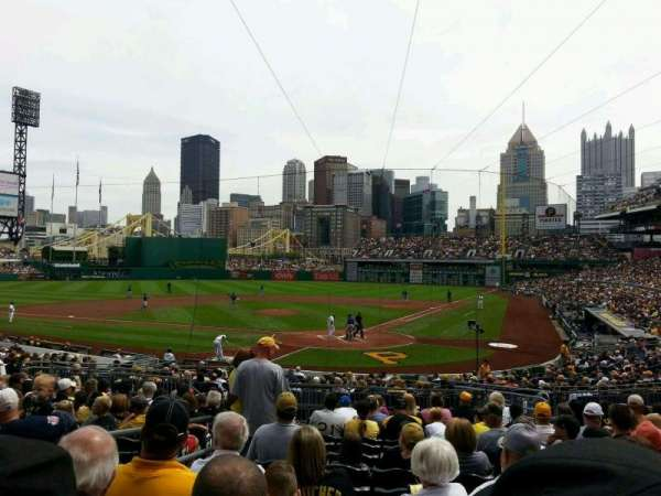 PNC Park, section: 117, row: N, seat: 23