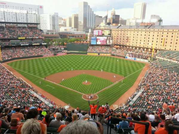 Oriole Park at Camden Yards, section: 340, row: 23, seat: 1