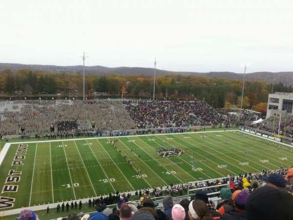 Michie Stadium, section: U-15, row: v, seat: 24
