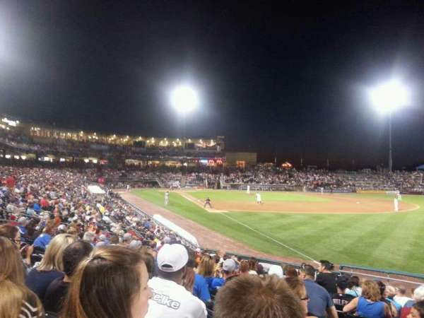 Coca-Cola Park, section: 102, row: r, seat: 20