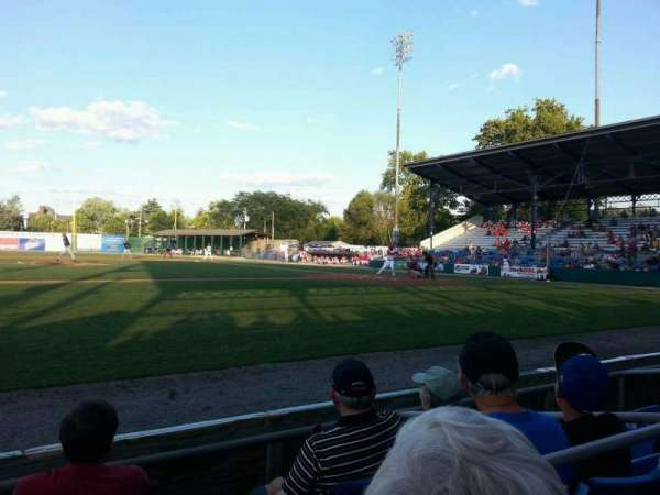 BB&T Ballpark at Historic Bowman Field, section: aa, row: d, seat: 4