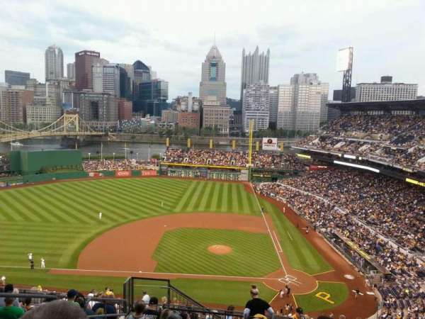 PNC Park, section: 321, row: s, seat: 20