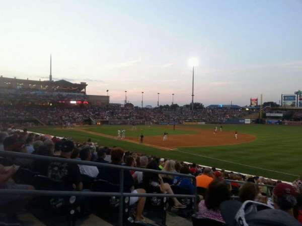 Coca-Cola Park, section: 103, row: w, seat: 4