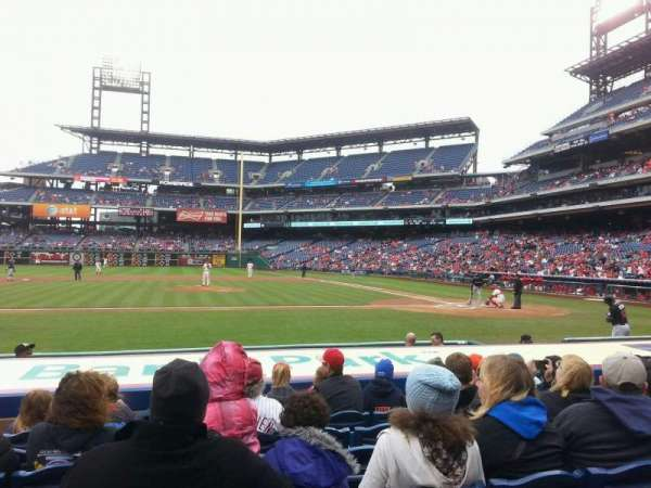 Citizens Bank Park, section: 130, row: 9, seat: 7