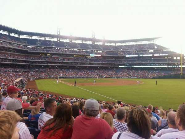 Citizens Bank Park, section: 109, row: 24, seat: 4