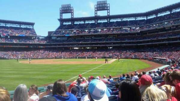 Citizens Bank Park, section: 138, row: 12, seat: 16