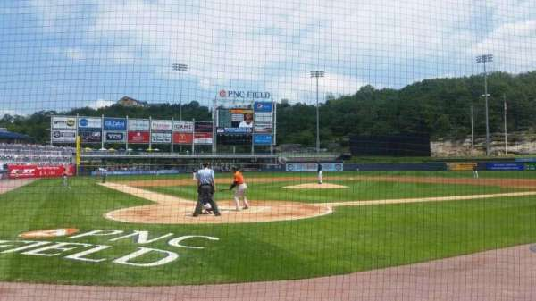 PNC Field, section: 20, row: 3, seat: 5