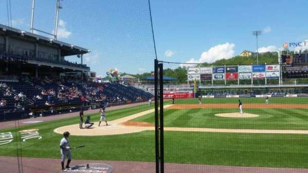 PNC Field, section: 18, row: 7, seat: 5