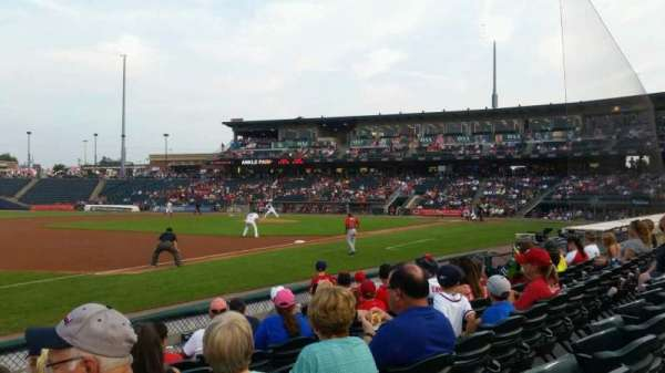 Coca-Cola Park, section: 119, row: g, seat: 20