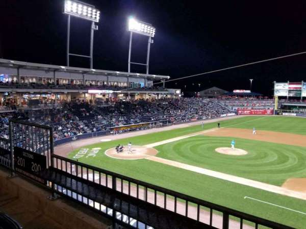 PNC Field, section: 200, row: 2, seat: 9