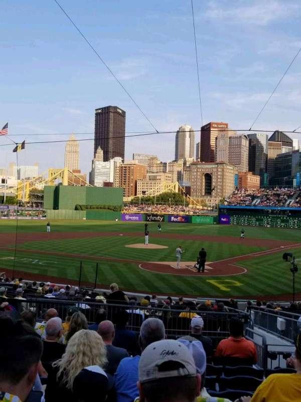 PNC Park, section: 117, row: k, seat: 18
