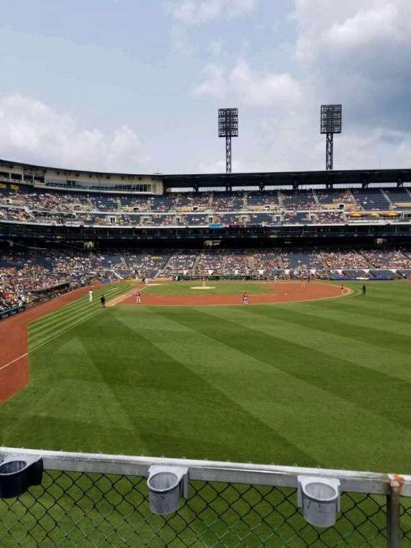 PNC Park, section: 144, row: b, seat: 9