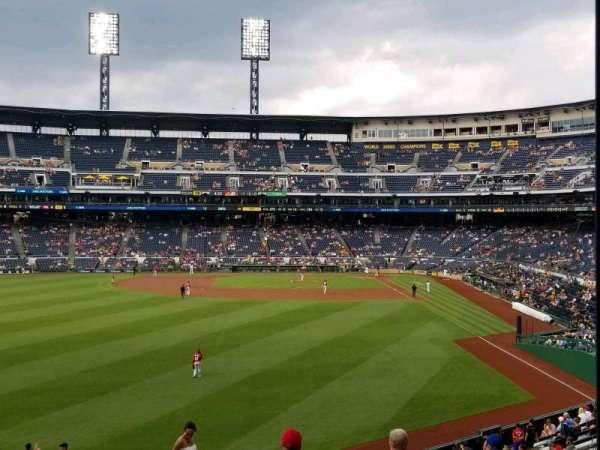 PNC Park, section: 235, row: r, seat: 1