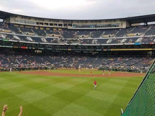 PNC Park, section: 141, row: l, seat: 1