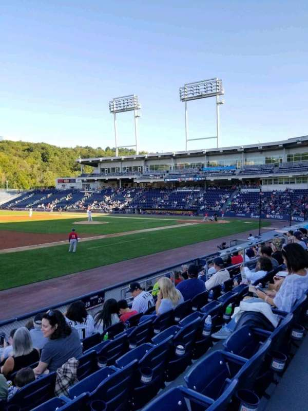 PNC Field, section: 28, row: 8, seat: 14