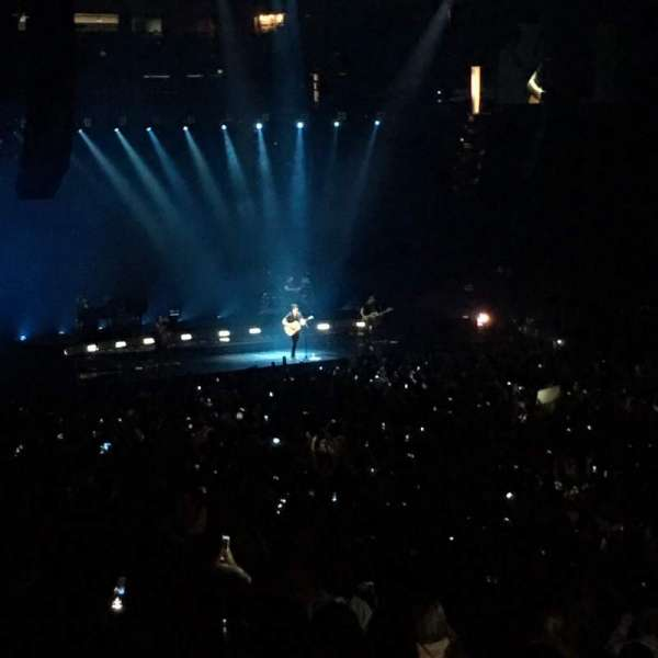 Oakland Arena, section: 111, row: 25, seat: 7,8