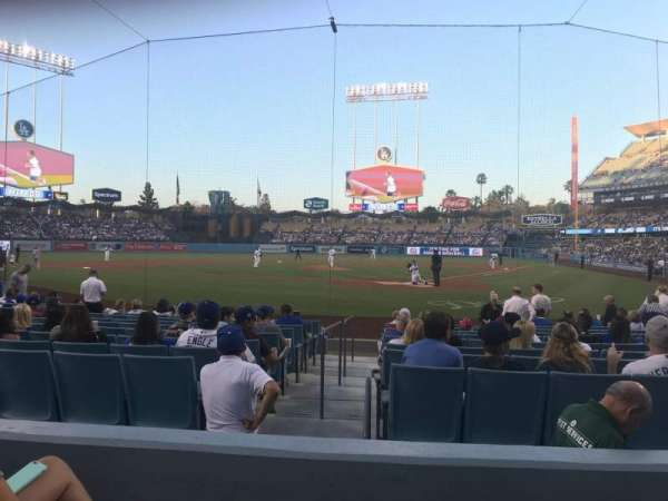 Dodger Stadium, section: 5FD, row: C, seat: 3