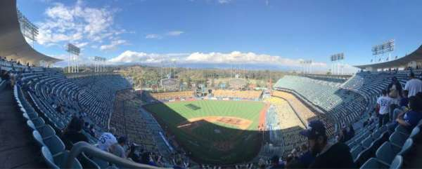 Dodger Stadium, section: 3TD, row: N, seat: 20