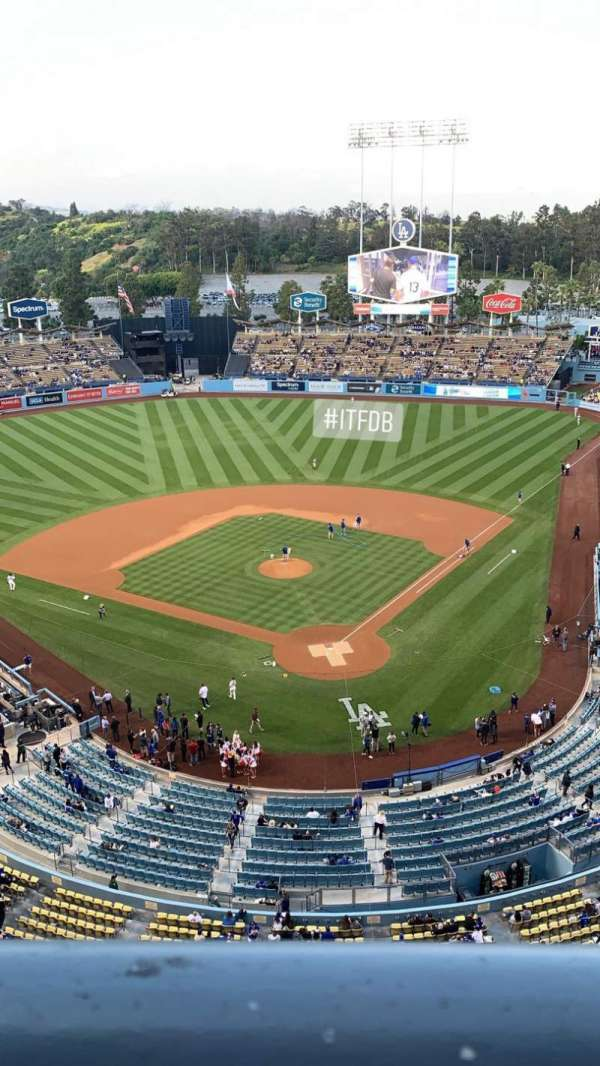 Dodger Stadium, section: 5TD, row: A, seat: 1