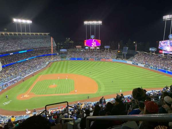 Dodger Stadium, section: 12RS, row: GG, seat: 1