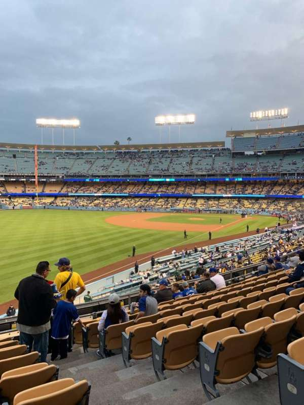 Dodger Stadium, section: 161LG, row: J, seat: 2