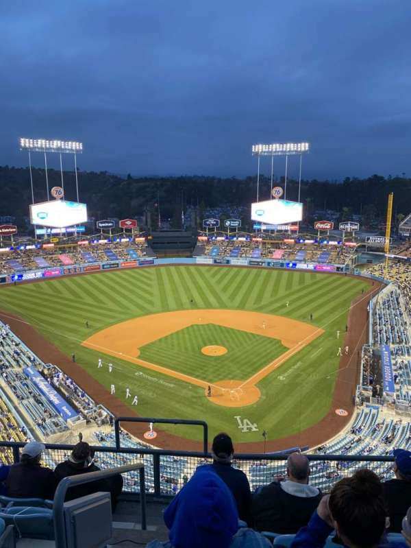 Dodger Stadium, section: 3TD, row: F, seat: 18