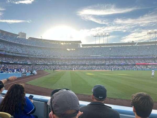 Dodger Stadium, section: 52FD, row: B, seat: 3