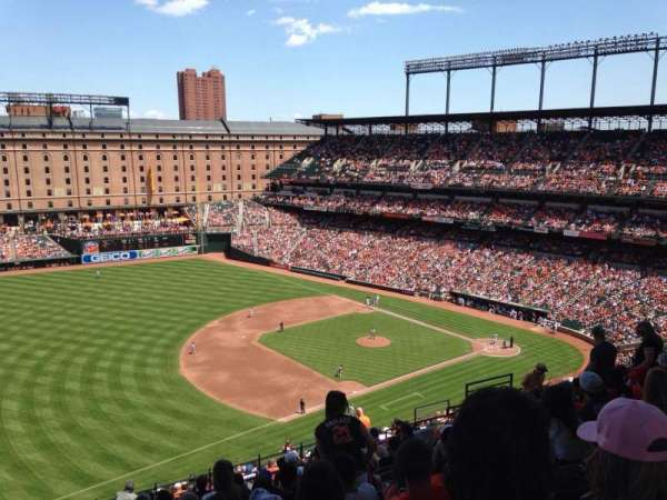 Oriole Park at Camden Yards, section: 362, row: 22, seat: 16