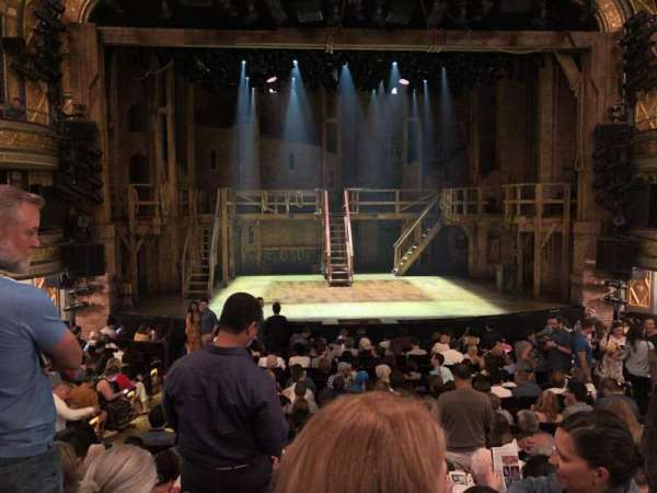 Richard Rodgers Theatre, section: Orchestra C, row: P, seat: 107