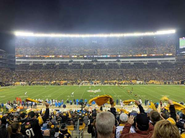 Heinz Field, section: 111, row: CC, seat: 21