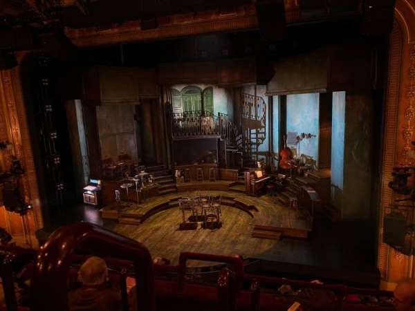 Walter Kerr Theatre, section: Mezzanine R, row: D, seat: 2