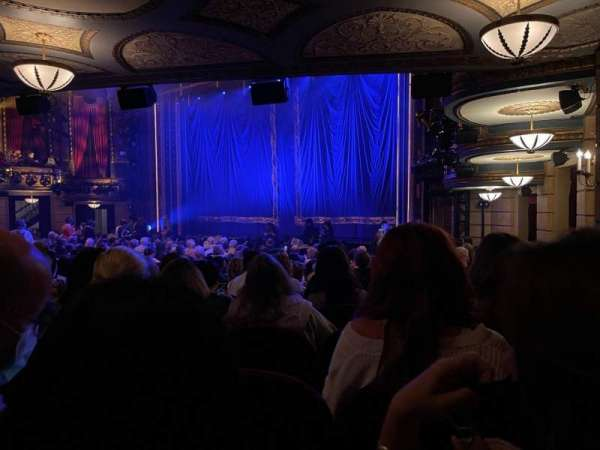 Brooks Atkinson Theatre, section: Orchestra R, row: P, seat: 26