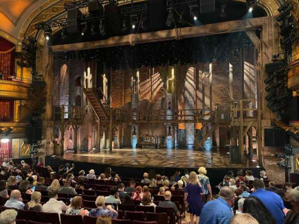 Richard Rodgers Theatre, section: Orchestra R, row: N, seat: 2