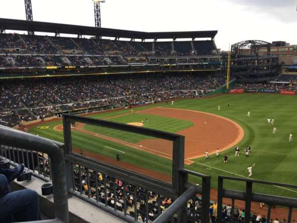 PNC Park, section: 205, row: B, seat: 9