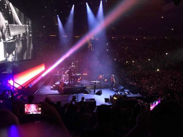 Madison Square Garden, section: 115, row: 10, seat: 5
