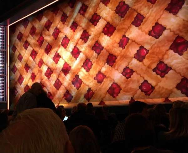 Brooks Atkinson Theatre, section: ORCH-R, row: E, seat: 6