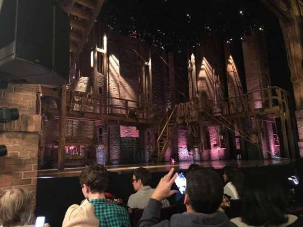 Richard Rodgers Theatre, section: ORCH L, row: D, seat: 15