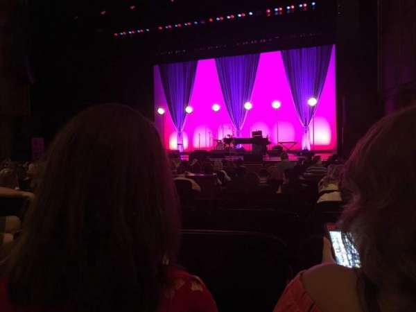 Benedum Center, section: Orchestra RC, row: J, seat: 26