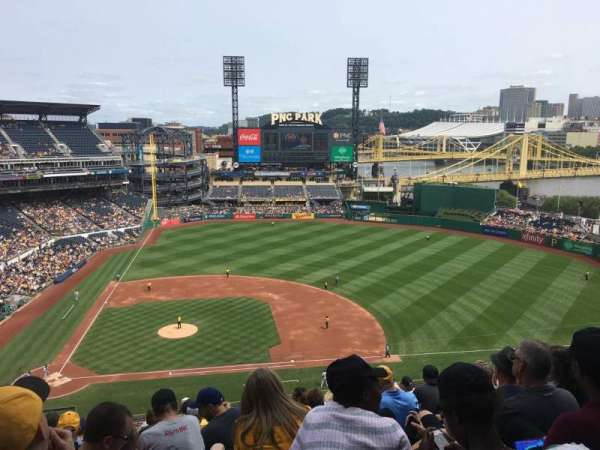 PNC Park, section: 310, row: P, seat: 19