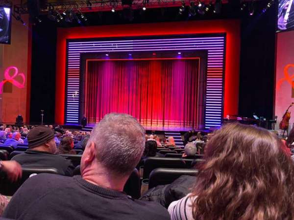 Penn & Teller Theater, section: 2, row: N, seat: 4