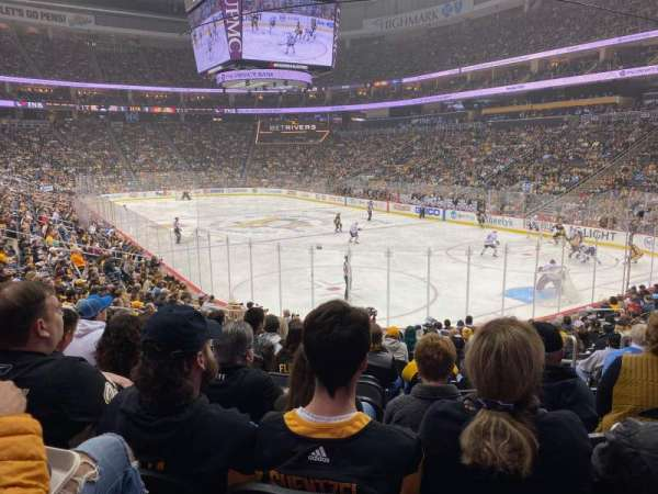 PPG Paints Arena, section: 109, row: R, seat: 5