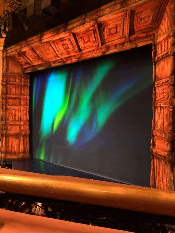 St. James Theatre, section: Mezzanine R, row: A, seat: 16