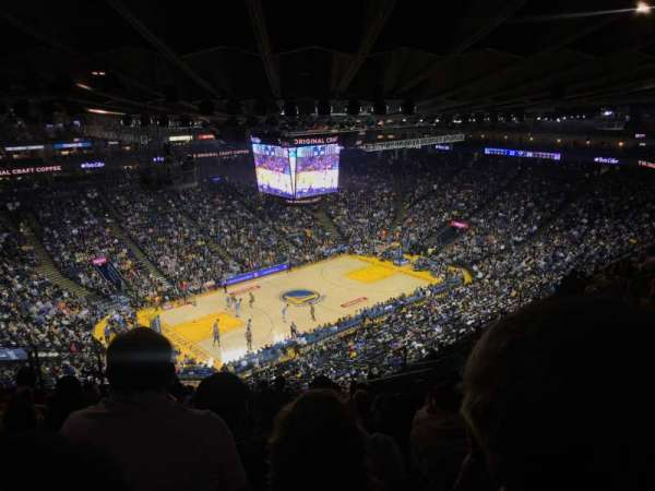 Oracle Arena, section: 220, row: 13, seat: 7