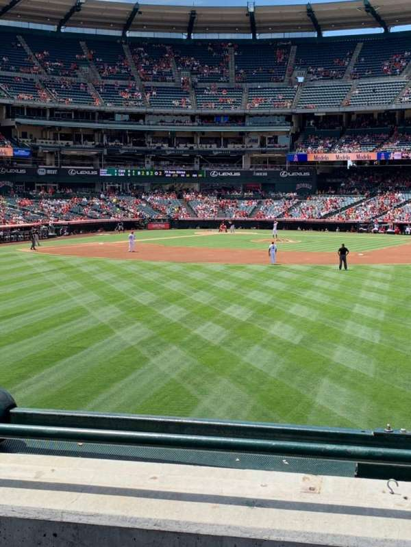 Angel Stadium, section: P238, row: C, seat: 25