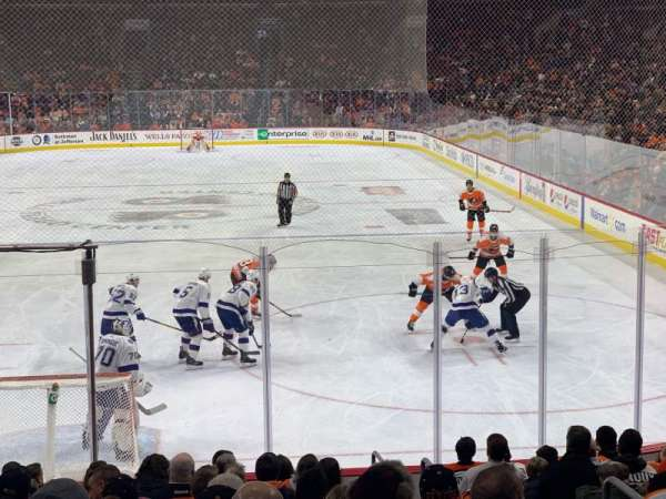 Wells Fargo Center, section: 107, row: 14, seat: 15