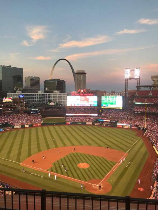 Busch Stadium, section: 452, row: 6, seat: 7