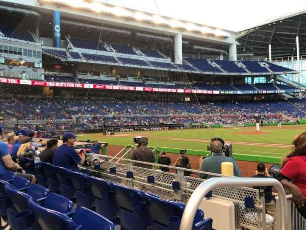 Marlins Park, section: 7, row: C, seat: 22