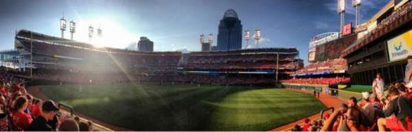 Great American Ball Park, section: 145, row: 5, seat: 11